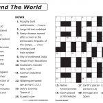 Easy Printable Crossword Puzzles | Elder Care & Dementia Care   Printable Crossword Puzzles Grade 3