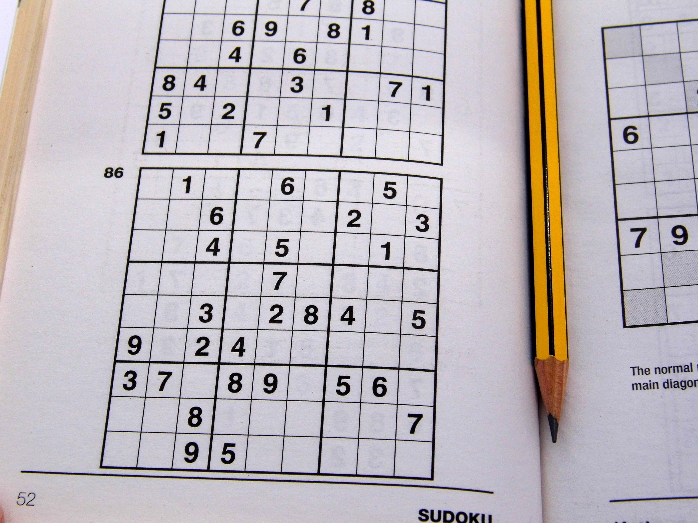 Easy Printable Sudoku Puzzles 2 Per Page – Book 2 – Free Sudoku Puzzles - Printable Sudoku Puzzles 2 Per Page