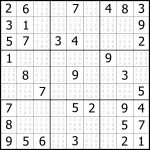Easy Sudoku Printable | Kids Activities | Printable Sudoku Printable   Printable Sudoku Puzzles Easy #1