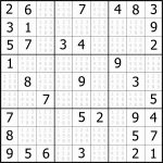 Easy Sudoku Puzzles To Print Free Download Featured Sudoku Puzzle To – Printable Sudoku Puzzles For Adults