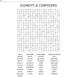 Elements & Compounds Word Search   Wordmint   Printable Compound Word Crossword Puzzle