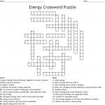 Energy Crossword Puzzle Crossword   Wordmint   Printable Energy Puzzle