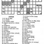 Eugene Sheffer Crossword Puzzle Printable   Printable 360 Degree   Printable Crossword Puzzles Eugene Sheffer