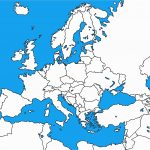 Europe Political Map Outline Printable Europe Map Outline With   Printable Puzzle Map Of Europe