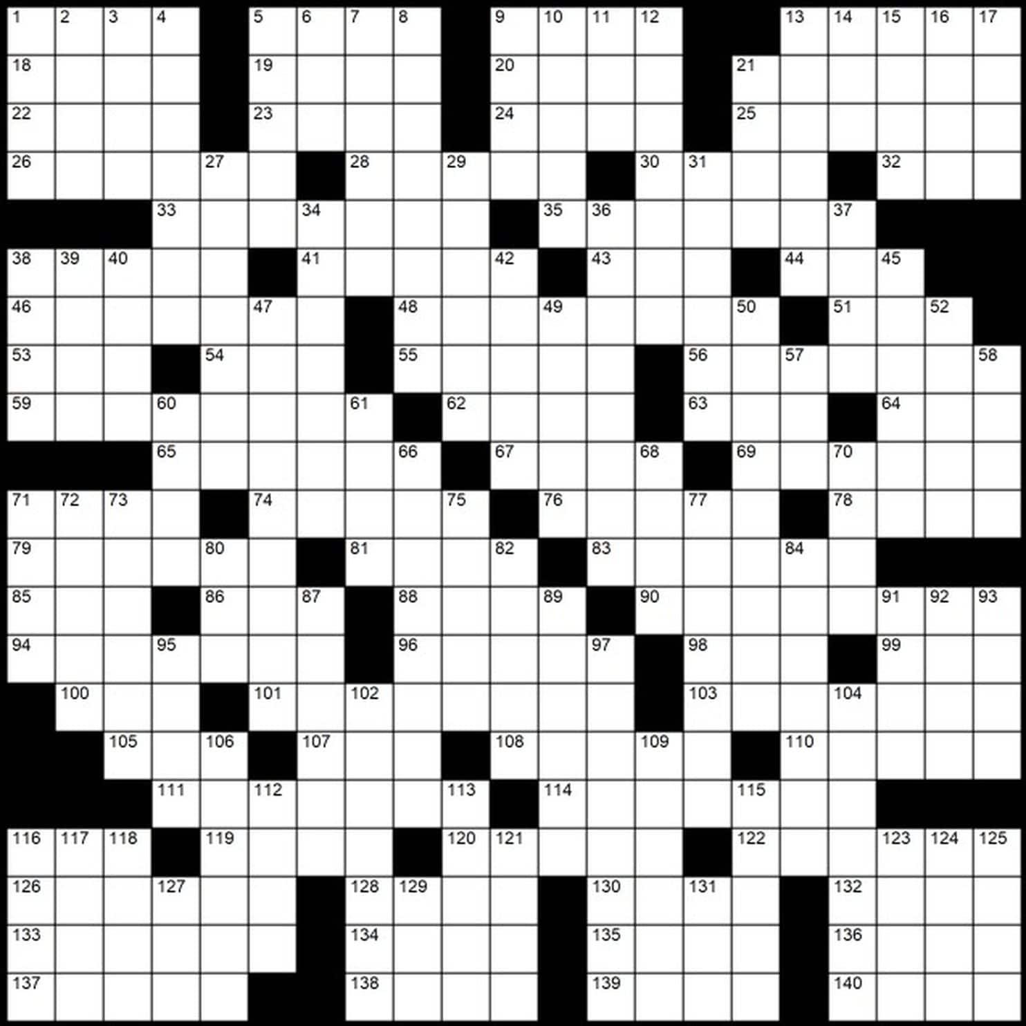 It's just a photo of Resource Washington Post Sunday Crossword Printable