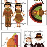 Fall And Thanksgiving Puzzle Activities Printables – Gym Craft Laundry – Printable Puzzles For Preschoolers