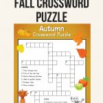 Fall Crossword Puzzle | Printables | Word Puzzles, Crossword, Puzzle   Printable Ela Puzzles