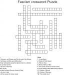 Fascism Crossword Puzzle Crossword   Wordmint   Free Printable Italian Crossword Puzzles