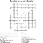 Fascism Crossword Puzzle Crossword   Wordmint   Printable German Crosswords