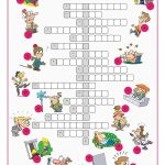 Feelings&emotions Crossword Puzzle Worksheet   Free Esl Printable   Printable Feelings Puzzle