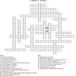 First Aid Crossword   Wordmint   Printable Crossword Puzzle First Aid