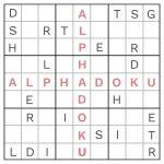 Free Alphadoku Puzzles   Printable Sudoku Puzzles Medium #3