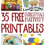 Free Christmas Nativity Printables And Coloring Pages   Printable Nativity Puzzle