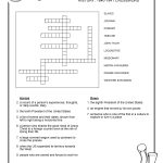 Free Crosswords Puzzle – History 1840 41 (B) – Surviving The Oregon   Printable United States Crossword Puzzle