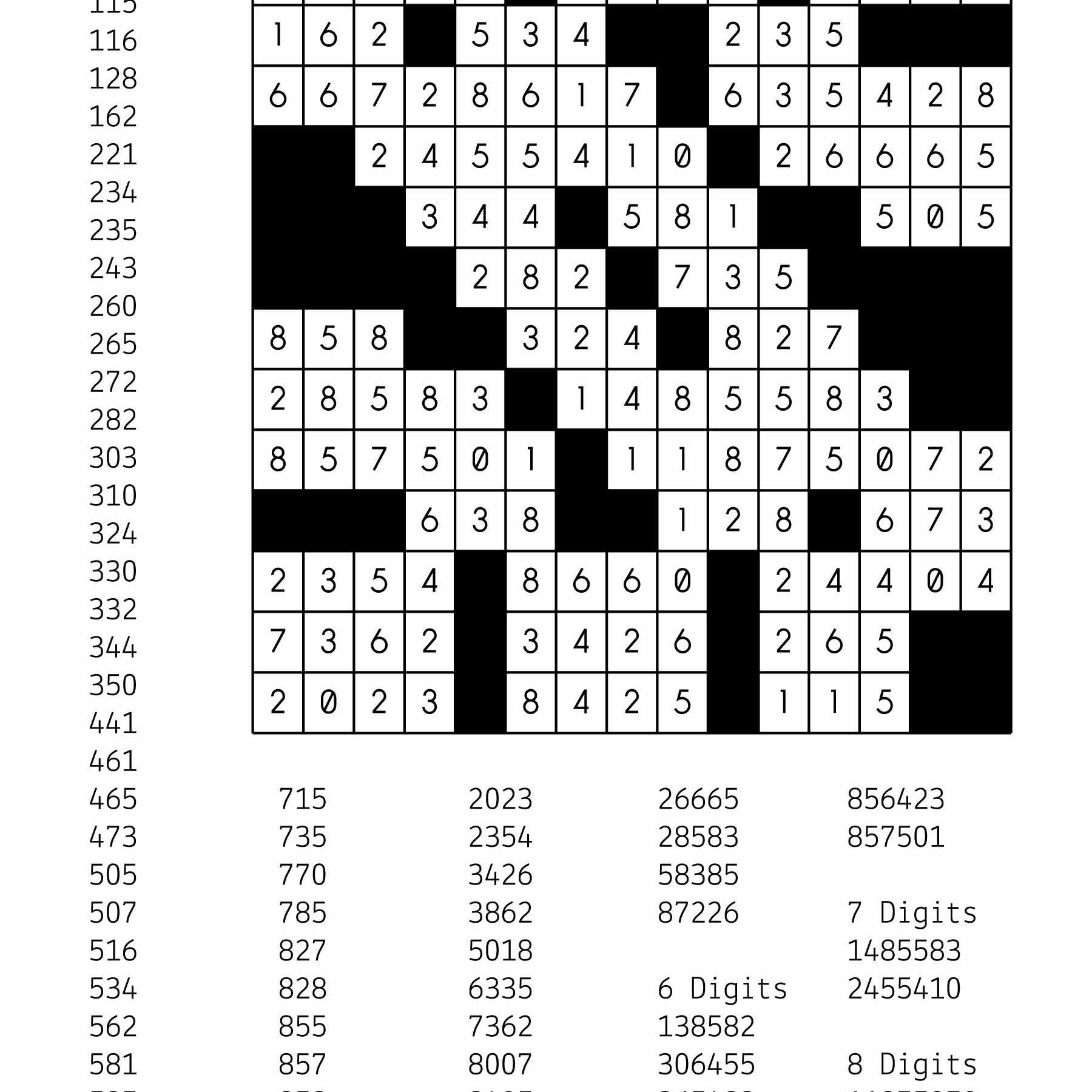 Free Downloadable Number Fill In Puzzle - # 001 - Get Yours Now - Printable Puzzles Kakuro