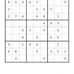 Free Downloadable Sudoku Puzzle Easy #6 | Puzzles | Sudoku Puzzles   Printable Sudoku Puzzles Easy #6