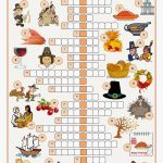 Free Printable Cards: Free Printable Crossword Puzzles   Thanksgiving Crossword Puzzles Printable Free