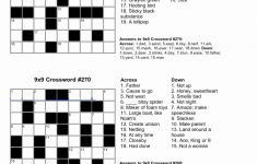Free Printable Crossword Puzzles For Kids – Yapis.sticken.co – Printable Crossword Puzzles For 10 Year Olds