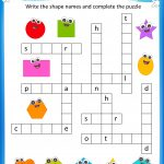 Free Printable Crosswords With Top 10 Benefits For Our Kids   Printable Crossword Puzzles For 6 Year Olds