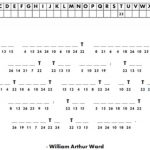 Free Printable Cryptograms With Answers | Free Printables   Printable Cryptogram Puzzles With Answers