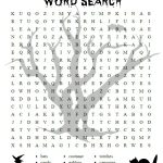 Free Printable Halloween Activities For First Graders | Halloween   Printable Halloween Crossword Puzzles Word Searches