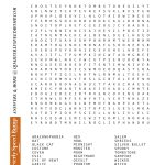 Free Printable Halloween Word Search Puzzles   Halloween Puzzle For   Printable October Puzzles
