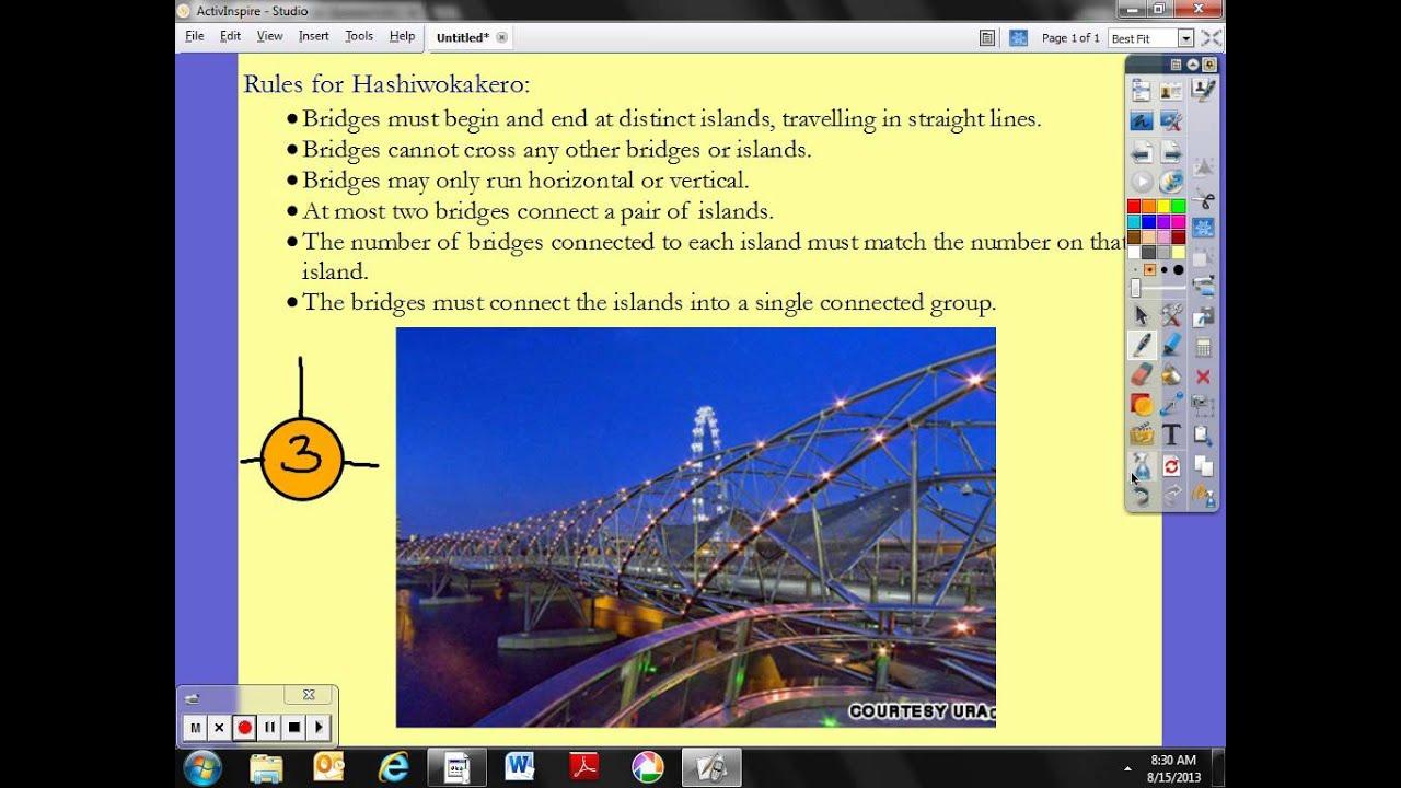Free Printable Hashiwokakero (Build Bridges) Puzzles That Will Test - Printable Bridges Puzzles