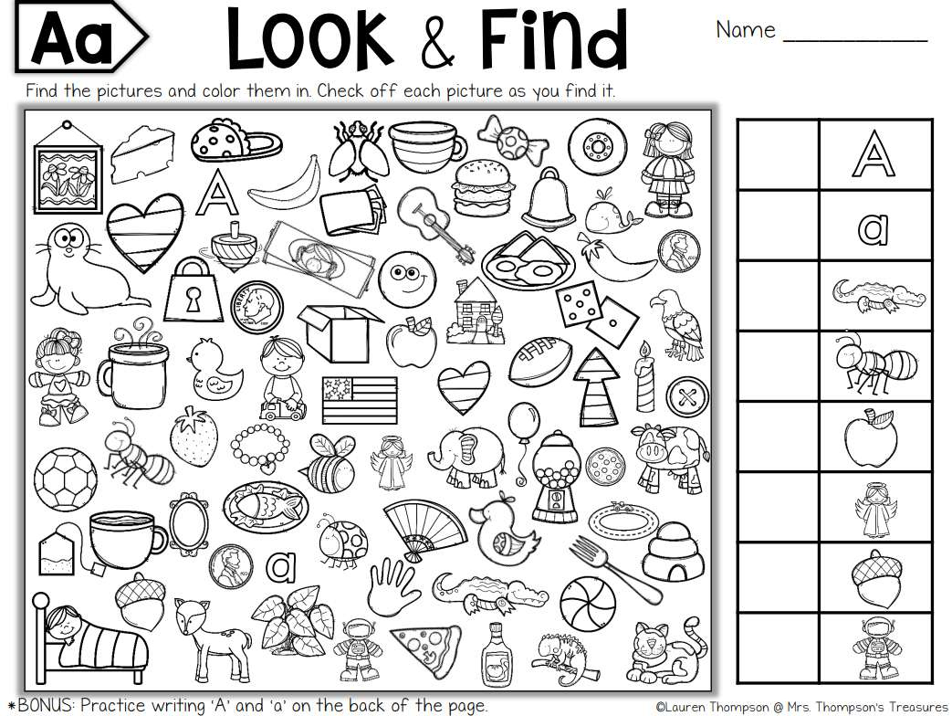 Free, Printable Hidden Picture Puzzles For Kids - Printable Toddler Puzzles