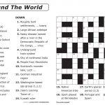 Free Printable Large Print Crossword Puzzles | M3U8   Free Printable   Easy Large Print Crossword Puzzles Printable