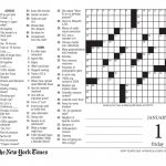 Free Printable Large Print Crossword Puzzles | M3U8   Printable Crossword Puzzle For Seniors