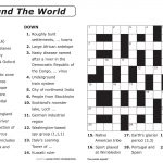Free Printable Large Print Crossword Puzzles | M3U8   Printable Crosswords For 6 Year Olds
