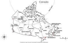 Free Printable Map Canada Provinces Capitals – Google Search – Printable Puzzle Map Of Canada