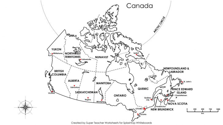 Printable Puzzle Map Of Canada