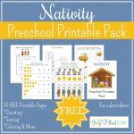 Free Printable Nativity Preschool Pack   My Joy Filled Life   Printable Nativity Puzzle