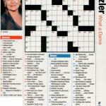 Free Printable People Magazine Crossword   Printable Crossword Puzzles From People Magazine