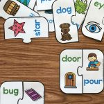 Free Printable Rhyming Puzzles | I ♥ Kindergarten | Rhyming   Printable Rhyming Puzzles