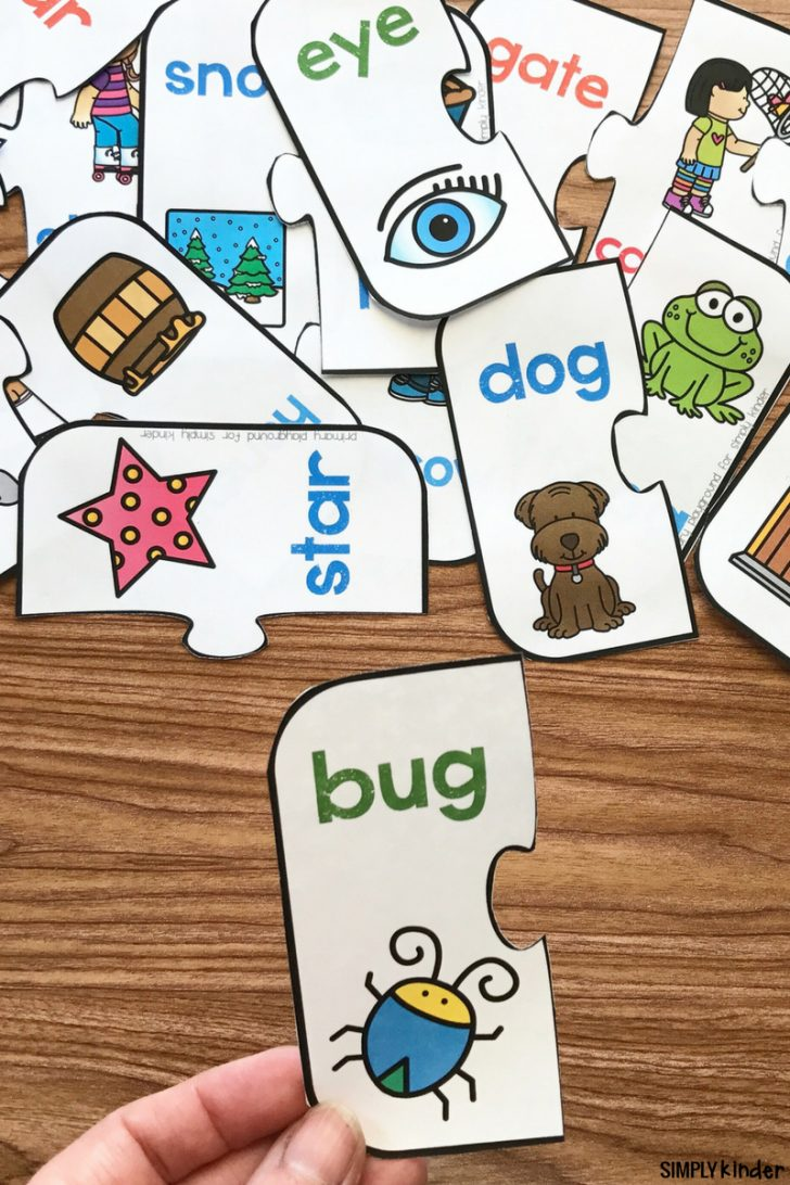 Printable Rhyming Puzzles