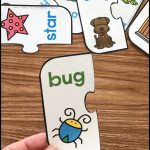 Free Printable Rhyming Puzzles   Simply Kinder   Printable Puzzles Preschool
