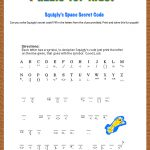 Free Printable Secret Code Word Puzzle For Kids. This Puzzle Has A   Printable Escape Room Puzzle