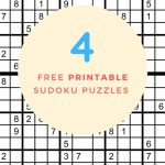 Free Printable Sudoku Puzzles Pdf | Free Printables   Printable Sudoku Puzzles Pdf