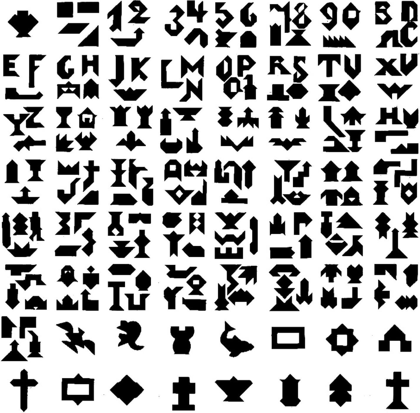 Free Printable Tangram Puzzle Patterns « Eoropeza1 - Printable Tangram Puzzles Pdf