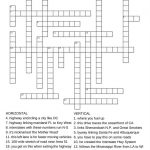 Free Printable Travel Games For Kids   Printable Crossword Puzzles For Tweens