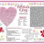 Free Printable Valentine's Day Puzzles | School Stuff | Valentines   Printable Valentine Puzzles Games
