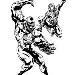 Free Printable Venom Coloring Pages For Kids | Comic Book Coloring   Free Printable Venom Puzzles