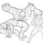 Free Printable Venom Coloring Pages For Kids   Free Printable Venom Puzzles