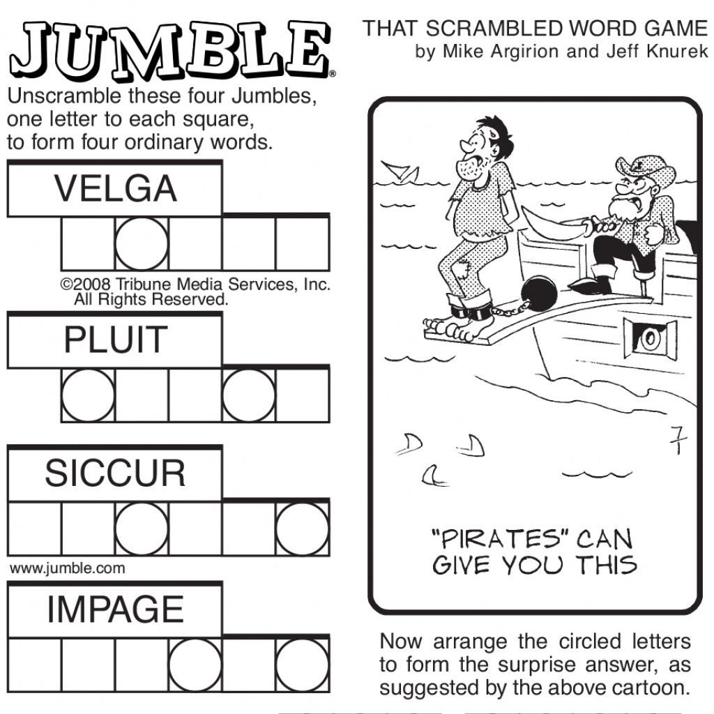 Free Printable Word Jumble Puzzles For Adults Printable Jumble For - Printable Jumble Crossword Puzzles