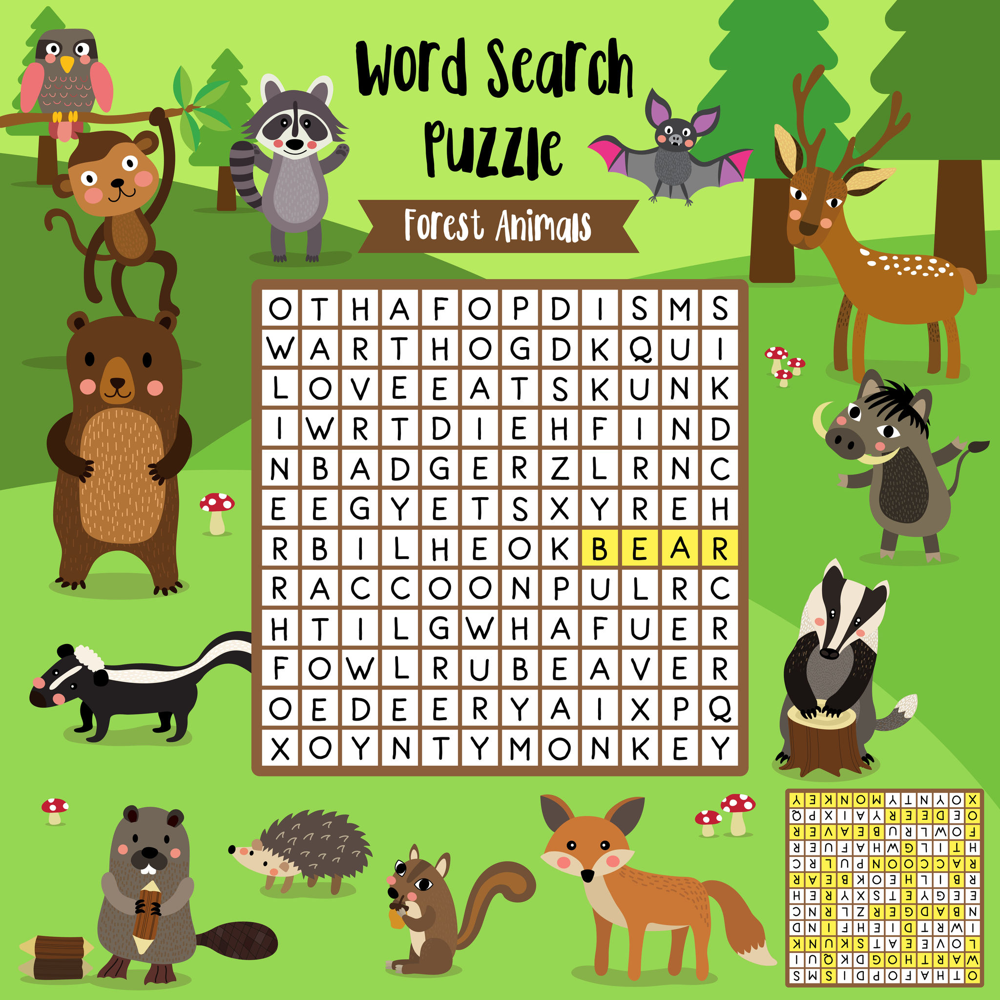 Free Printable Word Search For Kids - Free Printable Dog Puzzle