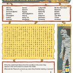 Free Printable Word Searches For Kids | Adventure Theme Games For   Printable Lexicon Puzzles