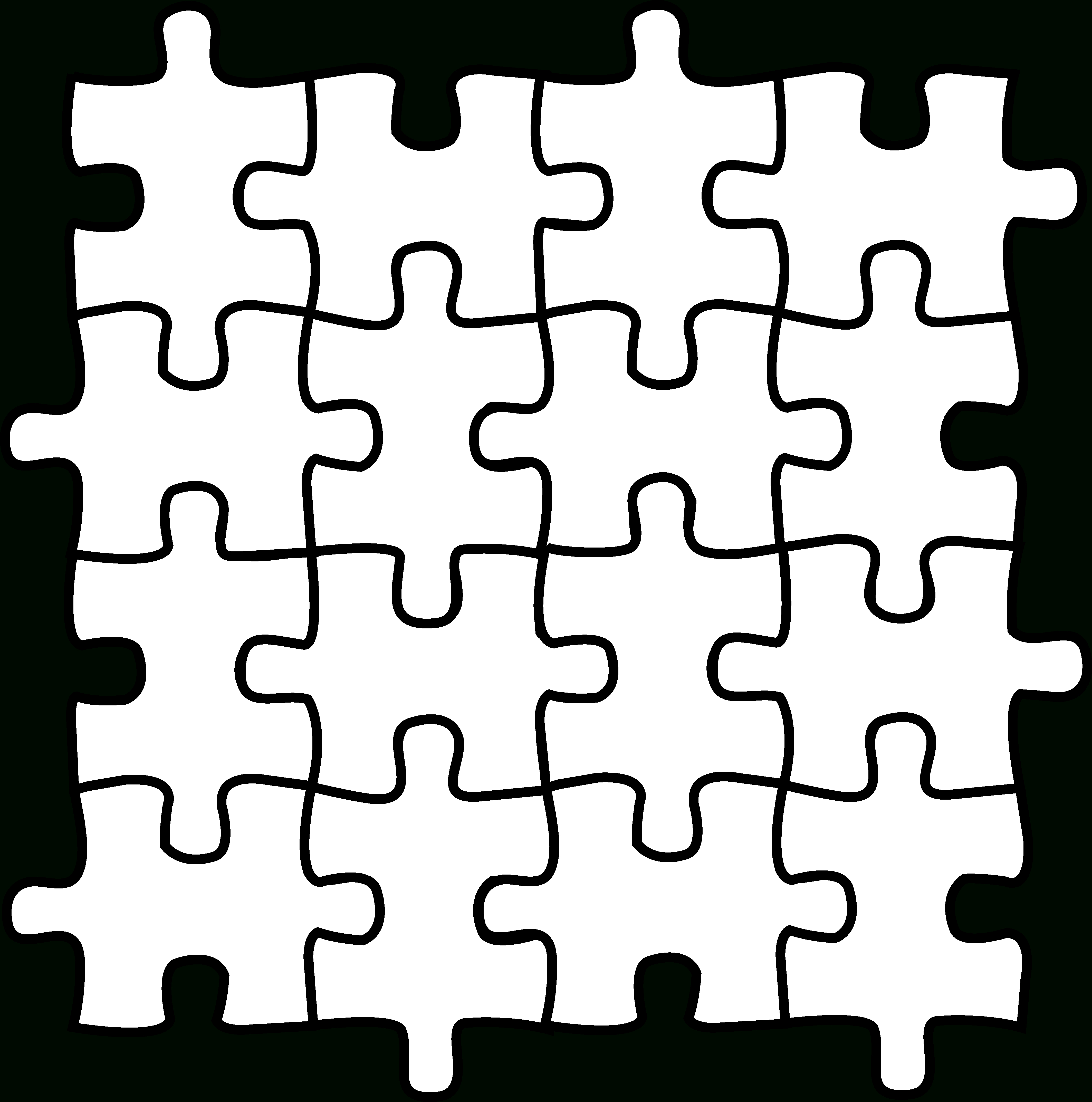 Free Puzzle Pieces, Download Free Clip Art, Free Clip Art On Clipart - Printable Colored Puzzle Pieces
