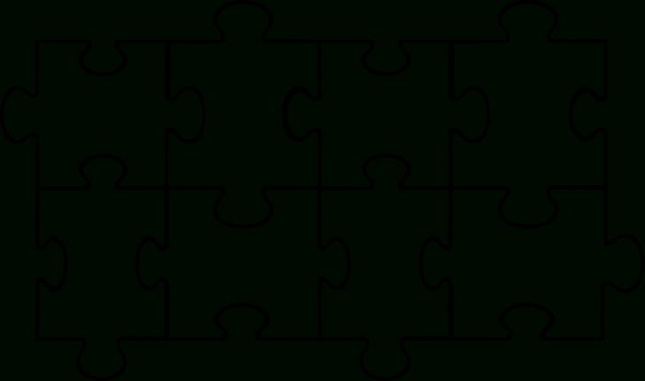 Printable Blank Jigsaw Puzzle Outline